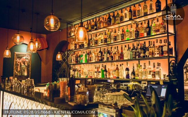 Tư vấn thiết kế quầy bar đẹp hiện đại