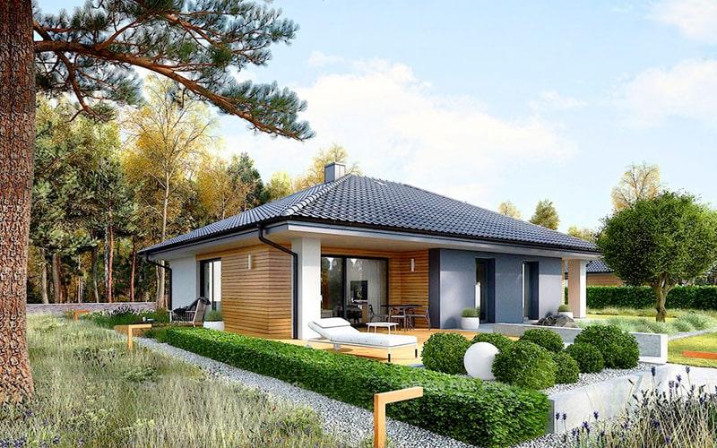 thiết kế nhà vườn cấp 4