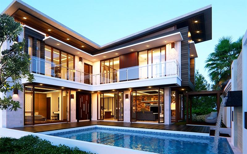 Thiết kế hồ bơi nhà biệt thự