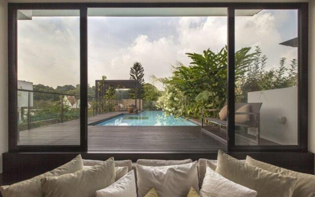 Thiết kế nội thất sang trọng cho nhà phố