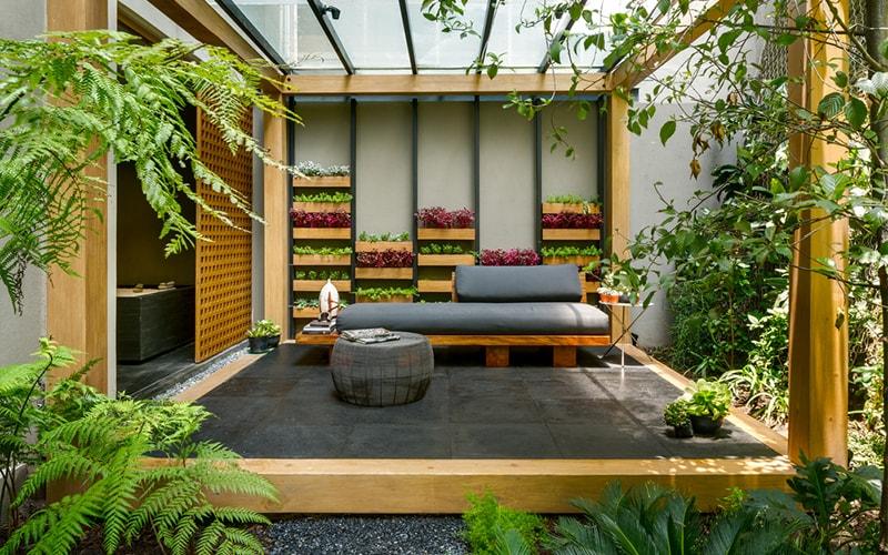 Thiết kế nội thất không gian xanh