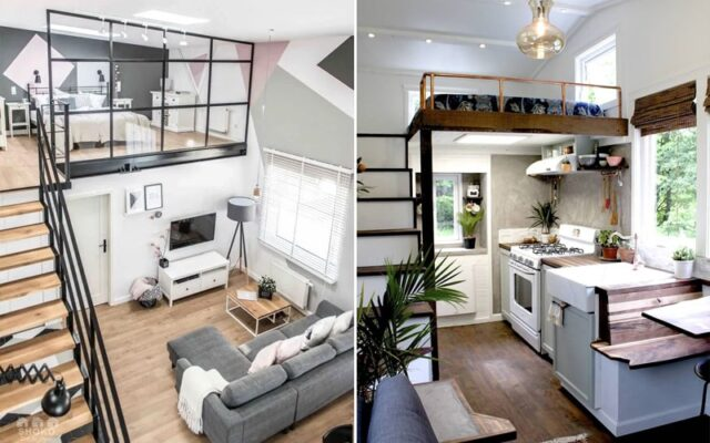 Gác lửng giúp tăng diện tích sử dụng ngôi nhà