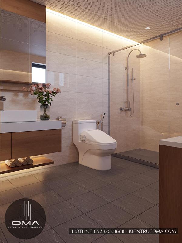 Mẫu phòng tắm đơn giản